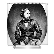 John C. Fremont (1813-1890) Shower Curtain