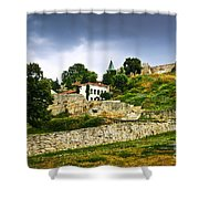 Kalemegdan Fortress In Belgrade Shower Curtain