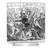 New York: Draft Riots Shower Curtain