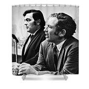 Norman Mailer (1923-2007) Shower Curtain