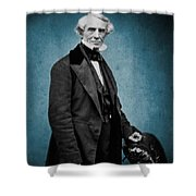 Samuel Morse, American Inventor Shower Curtain