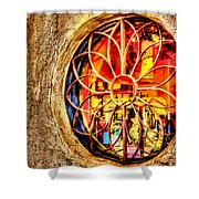 Sedona Tlaquepaque Shopping Center Shower Curtain