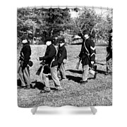 Soldiers March Shower Curtain