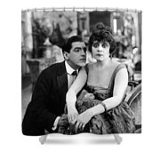 Theda Bara (1885-1955) Shower Curtain
