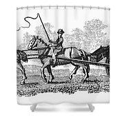 Virginia: Tobacco Culture Shower Curtain