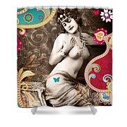 Goddess Shower Curtain