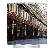Leadenhall Market London Shower Curtain