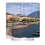 Ascona - Ticino Shower Curtain