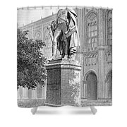 Benjamin Thompson Shower Curtain by Granger