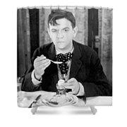 Film Still: Eating & Drinking Shower Curtain
