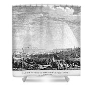 French Revolution, 1790 Shower Curtain