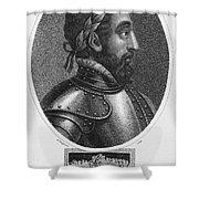 Henry II (1519-1559) Shower Curtain