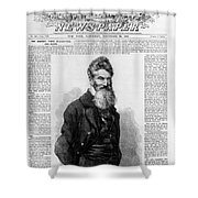 John Brown, American Abolitionist Shower Curtain