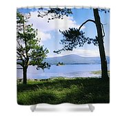 Kenmare Bay, Dunkerron Islands, Co Shower Curtain