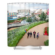 Olympic Park Shower Curtain