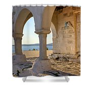 Paros - Cyclades - Greece Shower Curtain