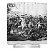 Robert E. Lee (1807-1870) Shower Curtain