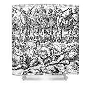 Vasco Nunez De Balboa Shower Curtain