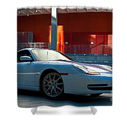 911 Porsche 996 2 Shower Curtain