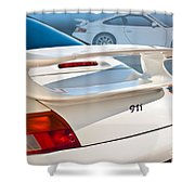 911 Porsche 996 8 Shower Curtain