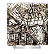 Leadenhall Market London Shower Curtain
