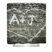 A And J Shower Curtain