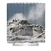 A Beautiful Geyser Shower Curtain