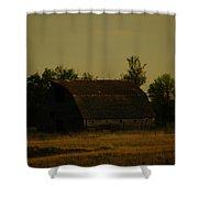 A Beauty Of An Old Barn Shower Curtain