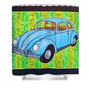 A Beetle Remembered Shower Curtain