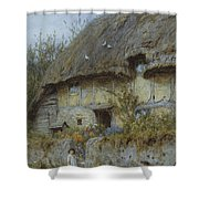 A Berkshire Cottage  Shower Curtain
