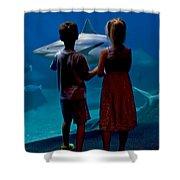 A Big Fish Shower Curtain