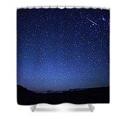 A Bright Sporadic Meteor Shower Curtain