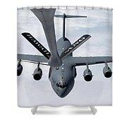 A C-17 Globemaster IIi Prepares Shower Curtain by Stocktrek Images