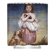 A Child Shower Curtain