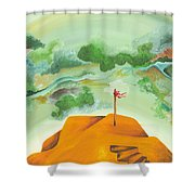 A Clearer View Shower Curtain