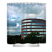 A Cloudy Day Shower Curtain