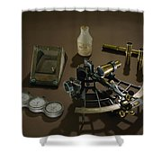 A Collection Of Explorer Robert E Shower Curtain