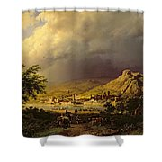 A Coming Storm Shower Curtain