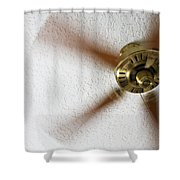 A Cooling Breeze Shower Curtain