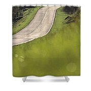 A Country Road In Virginia Shower Curtain