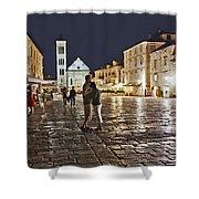 A Croatian Night Shower Curtain