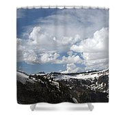 A Curved View Shower Curtain