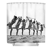 A Dance To The Morning Sun Shower Curtain