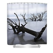 A Dark And Stormy Morning Shower Curtain