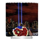 A Day Of Remembrance Nine Eleven Shower Curtain