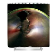 A Female Whirling Dervish In Capadocia Shower Curtain
