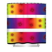 A Fractal Spectrum Shower Curtain