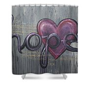 A Future Of Hope Shower Curtain