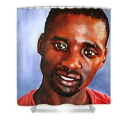 A Gentle Man Shower Curtain
