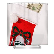 A Gift From Santa Shower Curtain